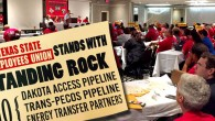 Adopted by the Texas State Employees Union General Assembly October 16th, 2016 WHEREAS, the proposed Dakota Access Pipeline (DAPL) is a 1,168-mile, 30-inch diameter pipeline being developed by of Energy […]