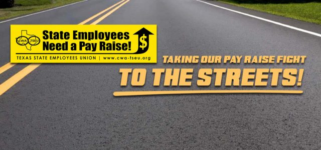 For our pay raise: make those calls, send those postcards, buy your lobby day tickets AND. . . place a Pay Raise bumper sticker on your car today! On the road […]